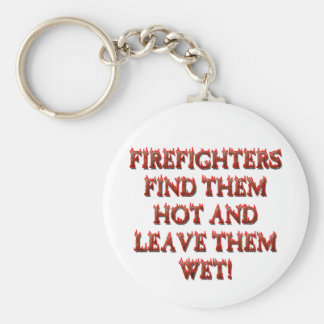 HOT FIREFIGHTERS KEYCHAIN