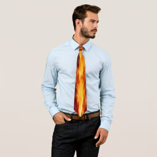 Hot Flames (1 side) Tie