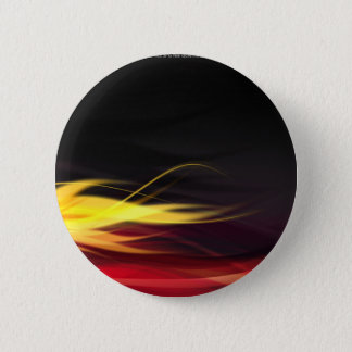 Hot Flames 2 Inch Round Button