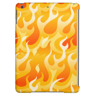 Hot flames iPad air cover