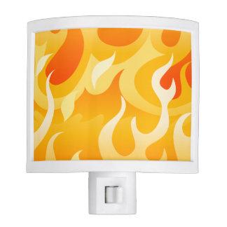 Hot flames night lights