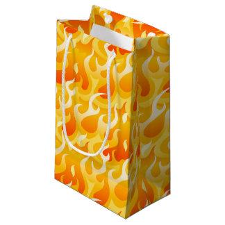 Hot flames small gift bag