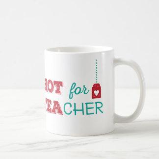 HOT for TEAcher Basic White Mug