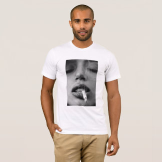 Hot girl with a cigarette T-Shirt