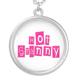 Hot Granny Silver Plated Necklace