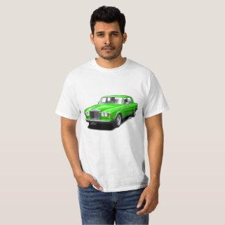 Hot green Rolling Royal classic car t-shirt