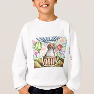 -hot hair balloon sweatshirt