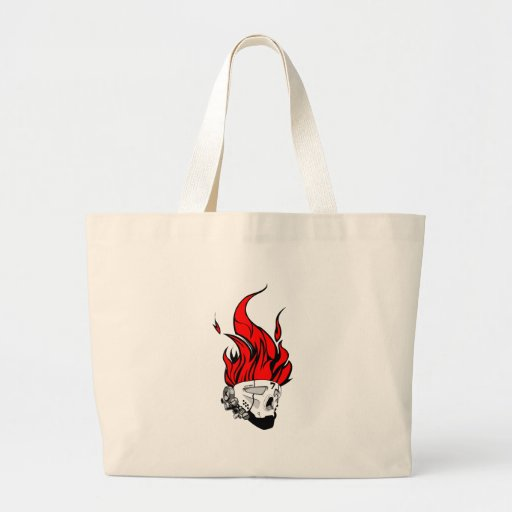hot head tote bags