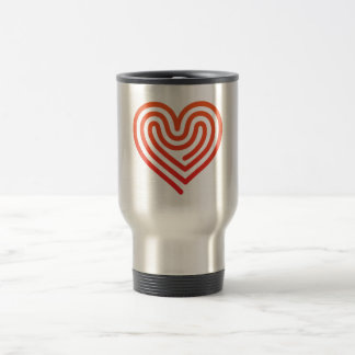 Hot Heart Travel Mug