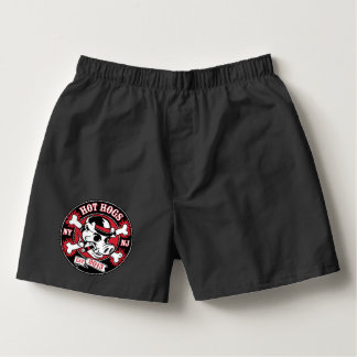 Hot Hogs™ Classic Black Boxer Shorts Boxers