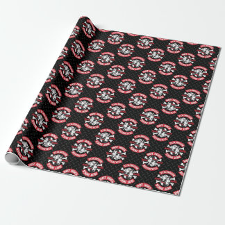 Hot Hogs™ Classic Black Gift Wrap