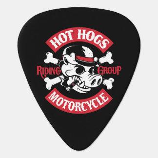 Hot Hogs™ Classic Black Guitar Picks Pick