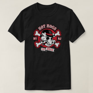 Hot Hogs™ Classic Mens Black Passenger T-Shirt