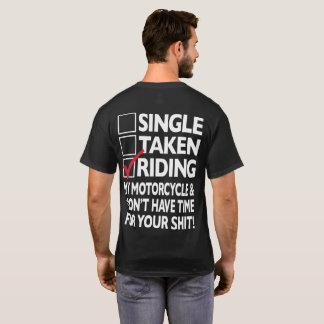 Hot Hogs™ Classic Mens Black Riding T-Shirt