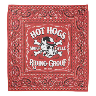 Hot Hogs™ Classic Red Bandana