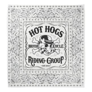 Hot Hogs™ Classic White Bandana