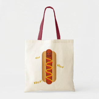Hot Hot Hot Dog! Tote Bag