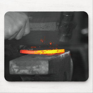 Hot Iron Mouse Pad