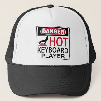 Hot Keyboard Player Trucker Hat