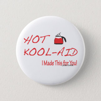 Hot Kool-Aid Julian Smith 2 Inch Round Button