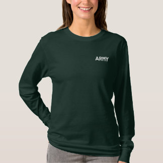 HOT LADIES ARMY RON PAUL 2012 LONG SLEEVE SHIRT