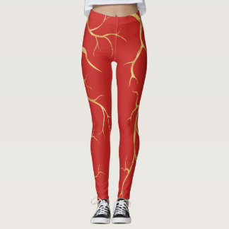 Hot Lava Gold | Leggings
