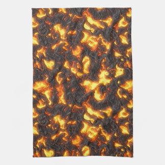 Hot Lava Kitchen Towel
