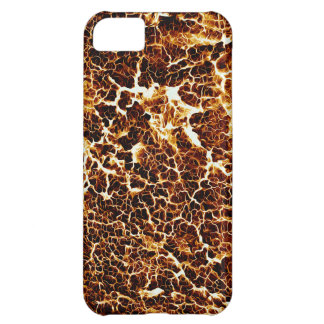Hot Lava Look Texture Case For iPhone 5C