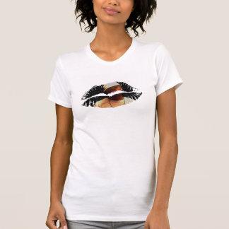 Hot Lips Ladies AA Cap Sleeve T Shirt