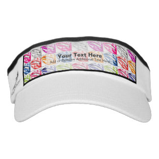 Hot Lips Pop Art Visor