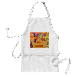 hot mama abstract standard apron
