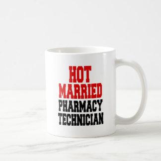 Hot Married Pharmacy Technician Coffee Mug