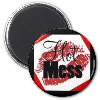 Hot Mess Magnet