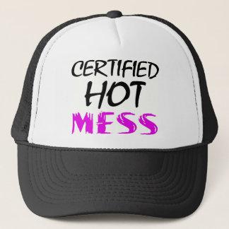 Hot Mess Trucker Hat