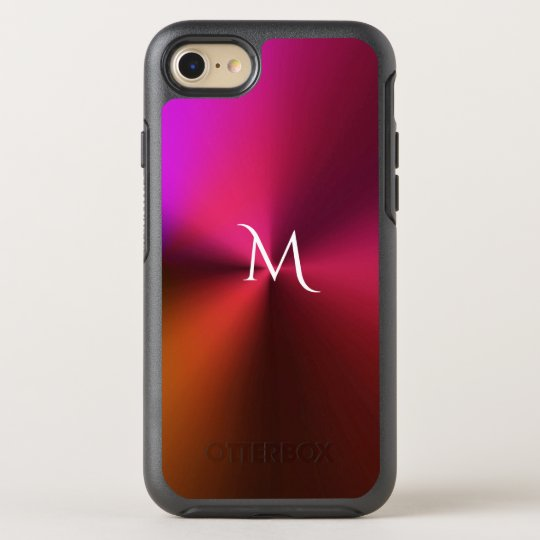 Hot Metallic Colours Monogram Otterbox iPhone Case