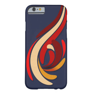 Hot Modern Flourish Pattern Barely There iPhone 6 Case