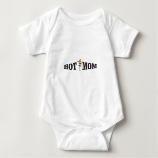hot mom yeah baby bodysuit