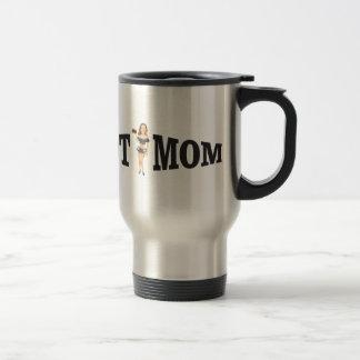 hot mom yeah travel mug