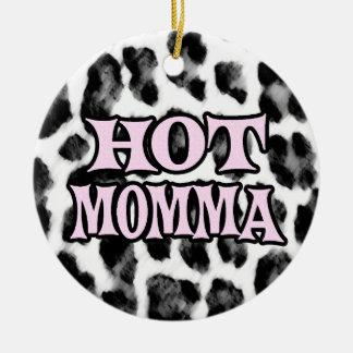 Hot Momma Ceramic Ornament