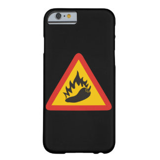 Hot pepper danger sign barely there iPhone 6 case