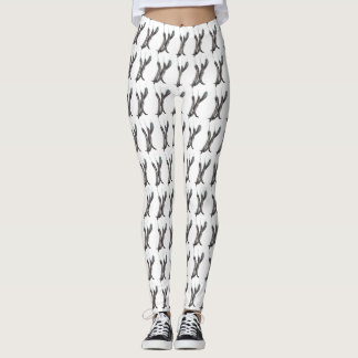 Hot Peppers Patterned Leggings