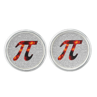 Hot Pi Cuff Links