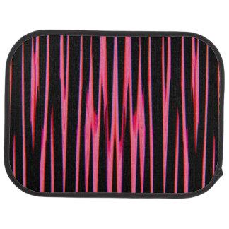 HOT PINK (an abstract art design) ~ Car Floor Carpet