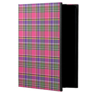 Hot Pink and Purple Vintage Plaid Powis iPad Air 2 Case