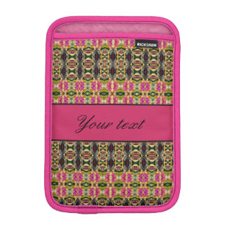 Hot Pink and Red Jewels iPad Mini Sleeves
