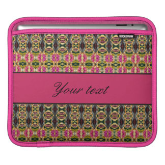 Hot Pink and Red Jewels iPad Sleeves