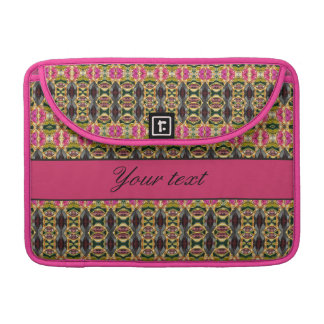 Hot Pink and Red Jewels MacBook Pro Sleeves