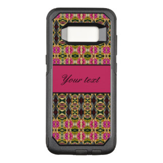 Hot Pink and Red Jewels OtterBox Commuter Samsung Galaxy S8 Case
