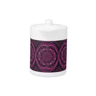 Hot Pink, Awakening zen pattern, healing, chakra