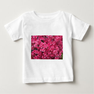 Hot Pink Azalea Blossoms Baby T-Shirt